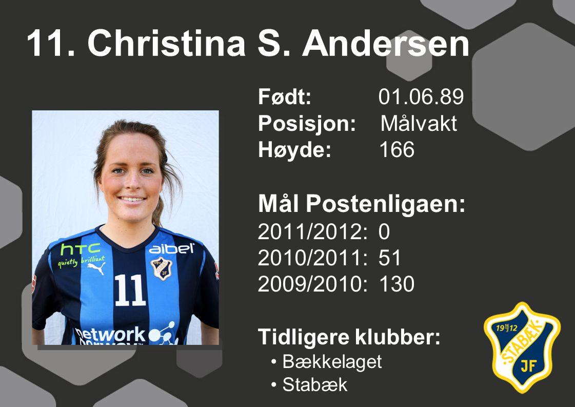 11.Christina S.