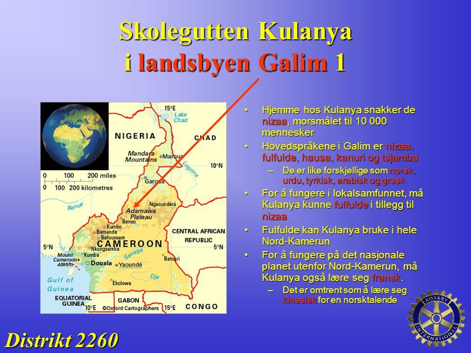 Skolegutten Kulanya i landsbyen Galim 1 Distrikt 2260 Hjemme hos Kulanya snakker de nizaa, morsmålet til 10 000 menneskerHjemme hos Kulanya snakker de