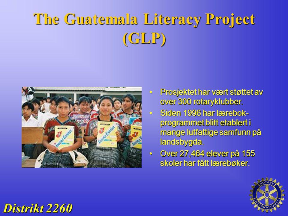 The Guatemala Literacy Project (GLP) Prosjektet har vært støttet av over 300 rotaryklubber.Prosjektet har vært støttet av over 300 rotaryklubber. Side
