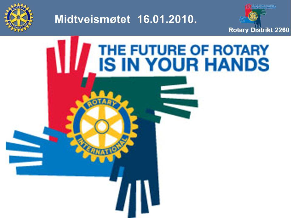 Rotary Distrikt 2260 Midtveismøtet 16.01.2010. Utfordringer i vårt distrikt v/ Åge Bjor