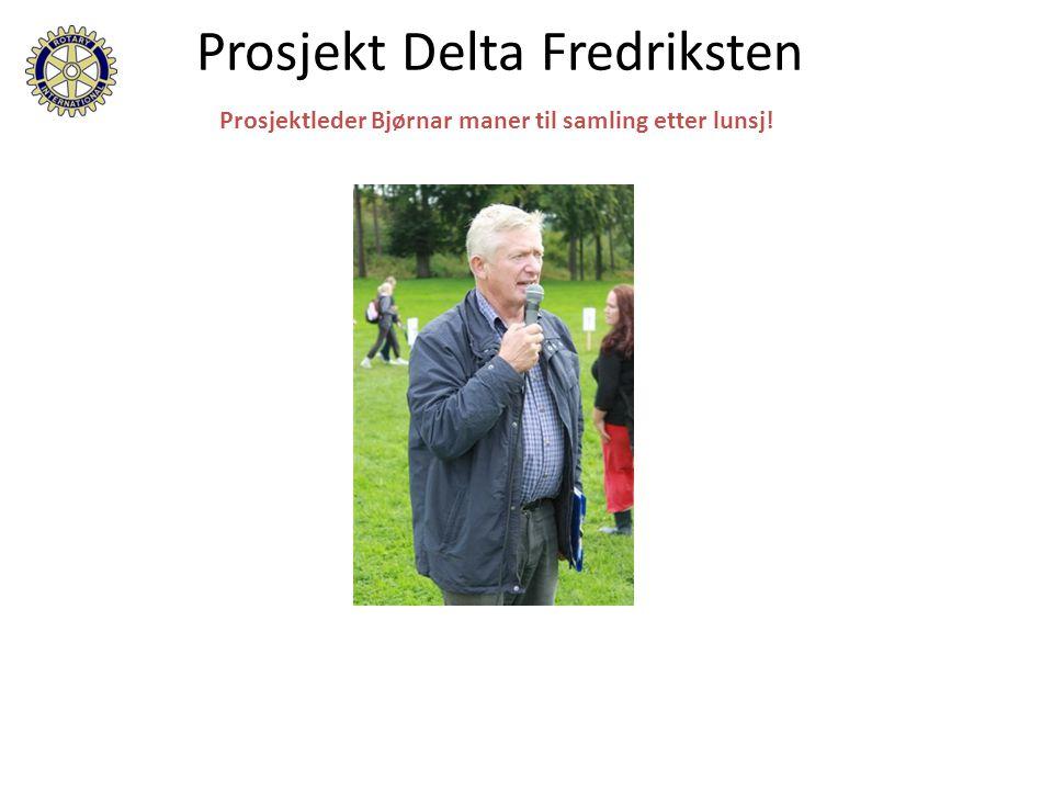 På vei til lunsj! Prosjekt Delta Fredriksten