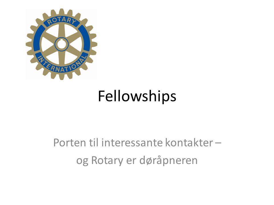 Fellowships Porten til interessante kontakter – og Rotary er døråpneren