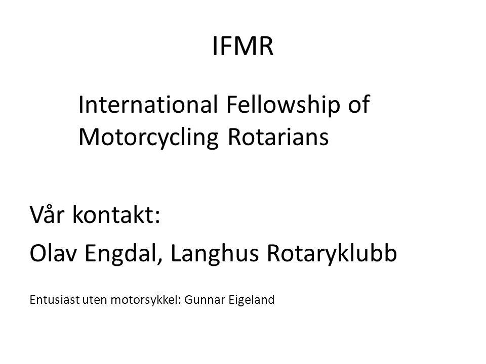 ITHF International Travel and Hosting Fellowship Startet i 1989.