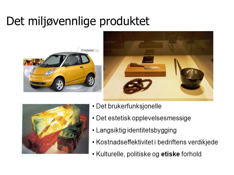 Livssyklus utvinne råvarer salg/kjøp framstille montere emballere bruk avskaffelse gjenvinning