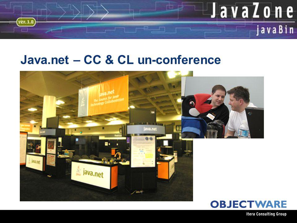 08.06.05 Java.net – CC & CL un-conference