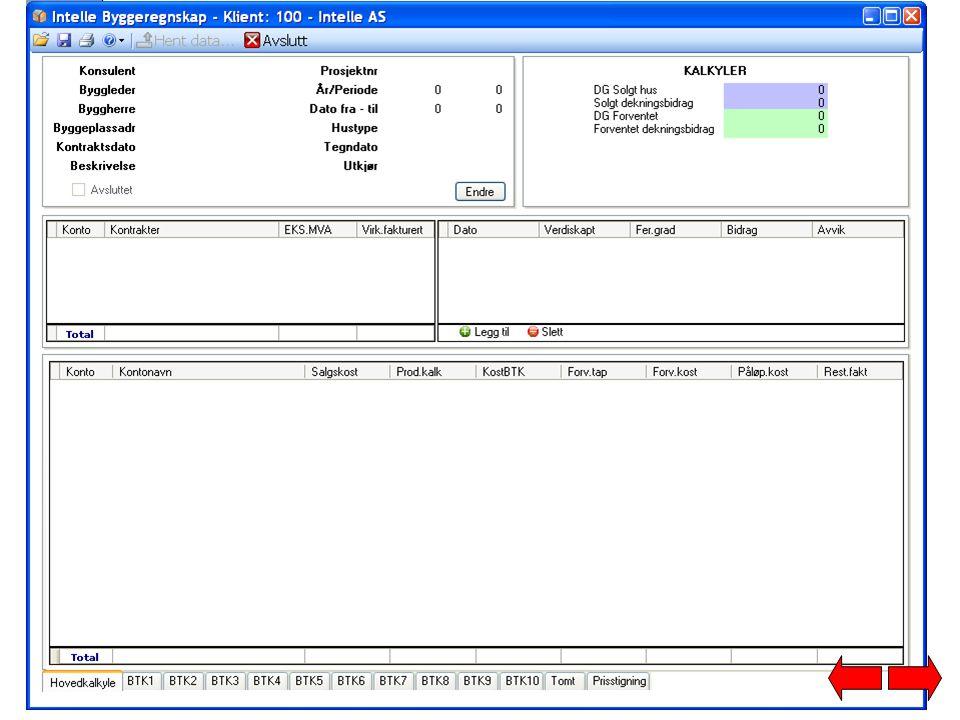 Vi har sendt en faktura (fra ERP system) til kunde på prosjektet. Vi oppdaterer prosjektet.