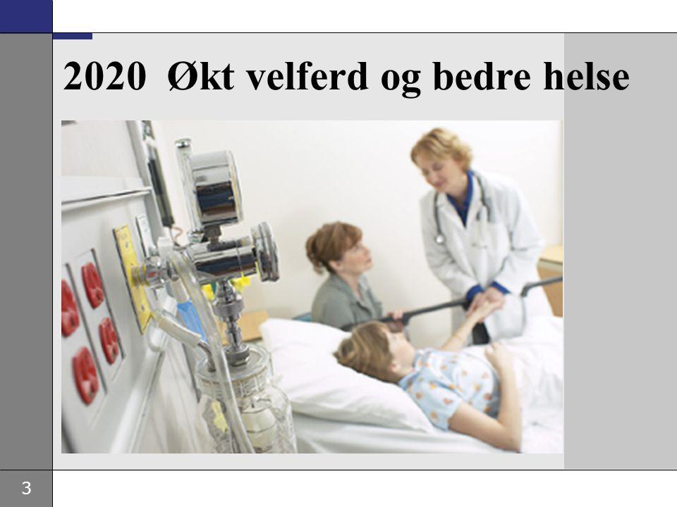 3 2020 Økt velferd og bedre helse