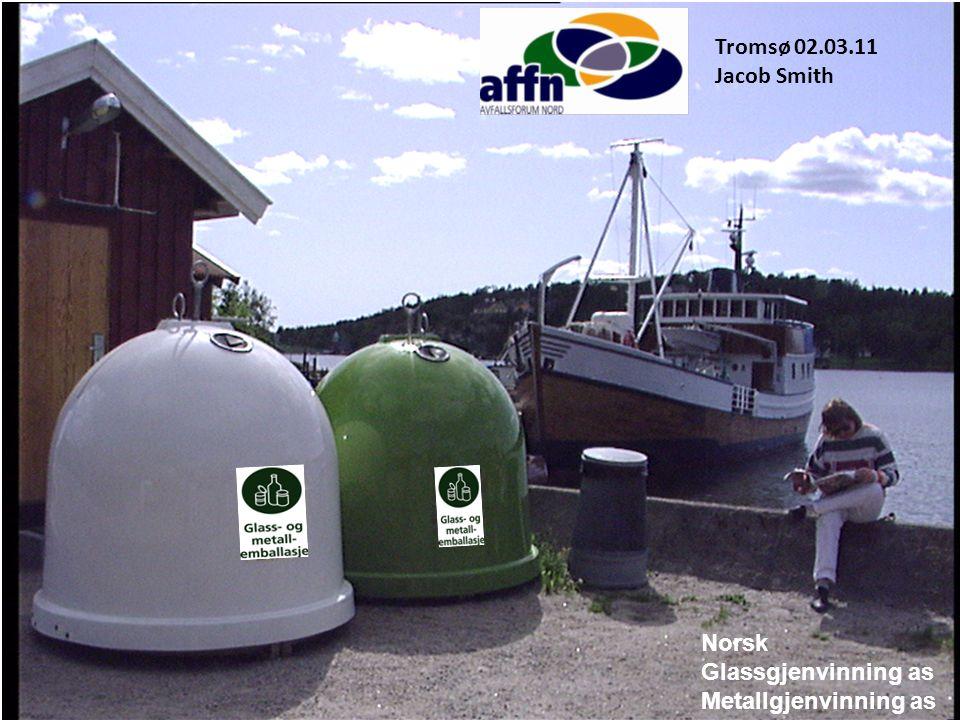 Norsk Glassgjenvinning as Metallgjenvinning as Råvarer ? Avfall ?
