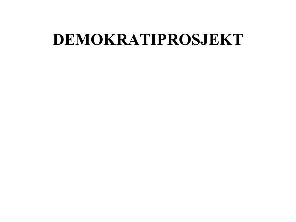 DEMOKRATIPROSJEKT