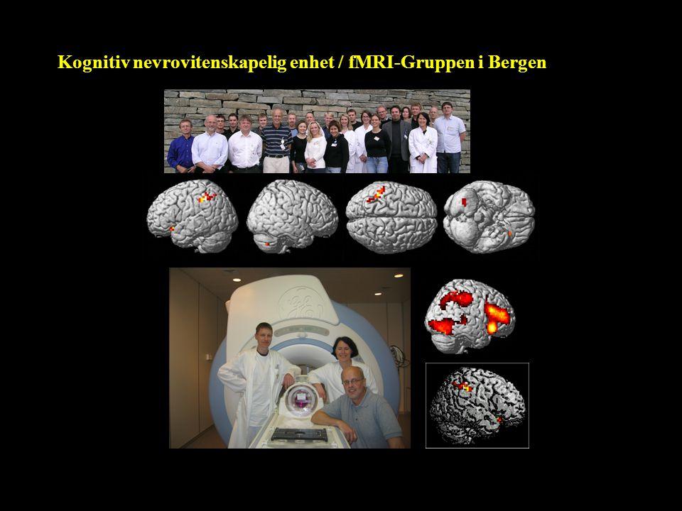 Kognitiv nevrovitenskapelig enhet / fMRI-Gruppen i Bergen