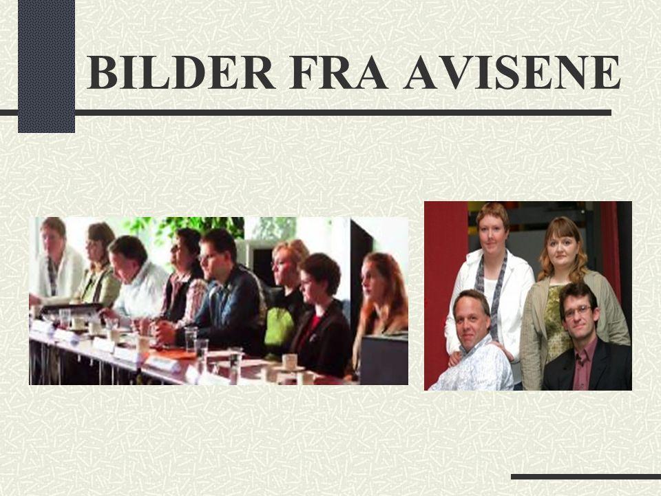 BILDER FRA AVISENE