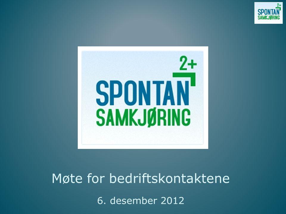 Møte for bedriftskontaktene 6. desember 2012