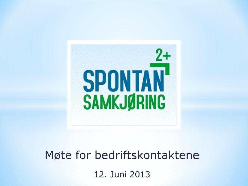 Møte for bedriftskontaktene 12. Juni 2013