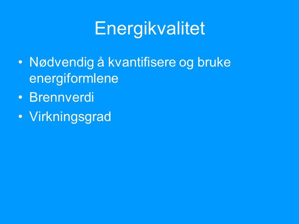 Energiord: Energikjede Energikilde Energibærer Energiforbruk Fornybare og ikke-fornybare energiressurser Fossilt brensel Alternative energikilder Energiøkonomisering