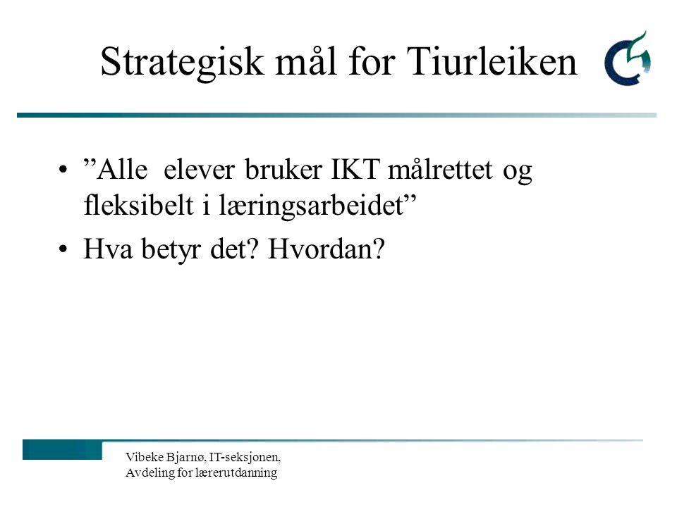 Vibeke Bjarnø, IT-seksjonen, Avdeling for lærerutdanning Sjekk: Når er siden sist oppdatert? Hvem er forfatter? Hvorfor er siden laget? Hvem står bak