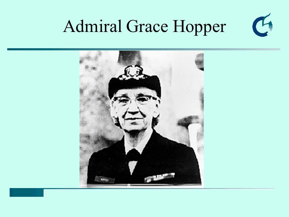 Admiral Grace Hopper
