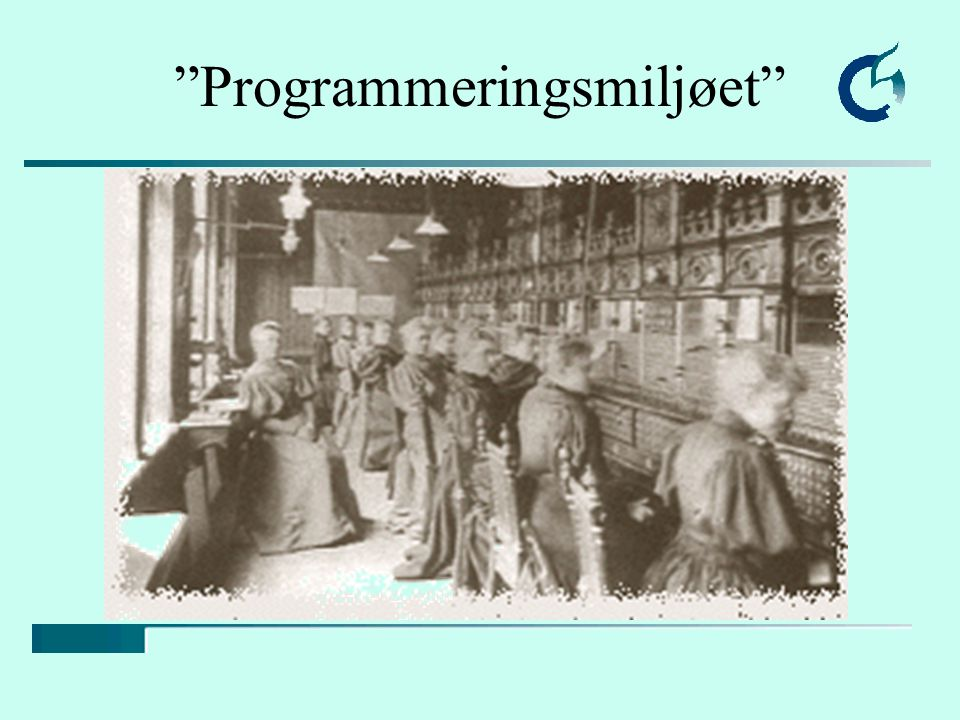 """""""Programmeringsmiljøet"""""""