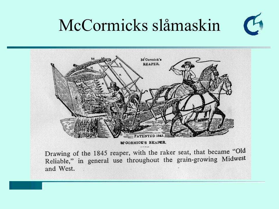 McCormicks slåmaskin