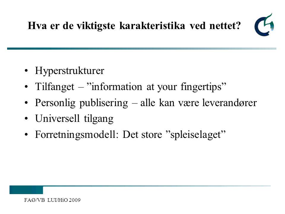 Vibeke Bjarnø, IKT-seksjonen, Avdeling for lærerutdanning og internasjonale studier Nettsider som sjanger – hvilke signaler.