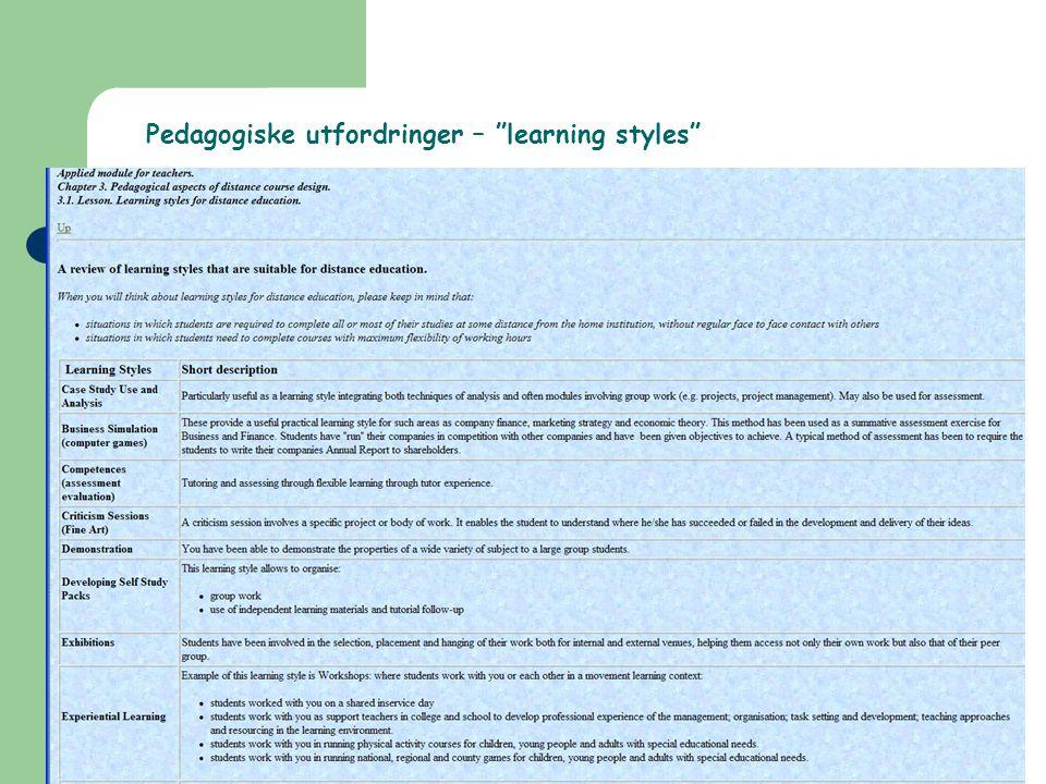 HiO, Fred-Arne Ødegaard Pedagogiske perspektiver Norsk publikasjonsliste: Norsk publikasjonsliste – http://www.nettskolen.com/pub/artikkel.xsql?a rtid