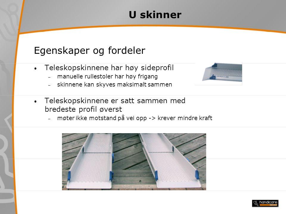 V skinner For scootere og el-rullstoler med smale hjul V5 fast skinne V10 fast skinne V11 foldbar skinne V15 foldbar skinne V20 foldbar skinne V20/3 foldbar/teleskopskinne V30 foldbar/teleskopskinne