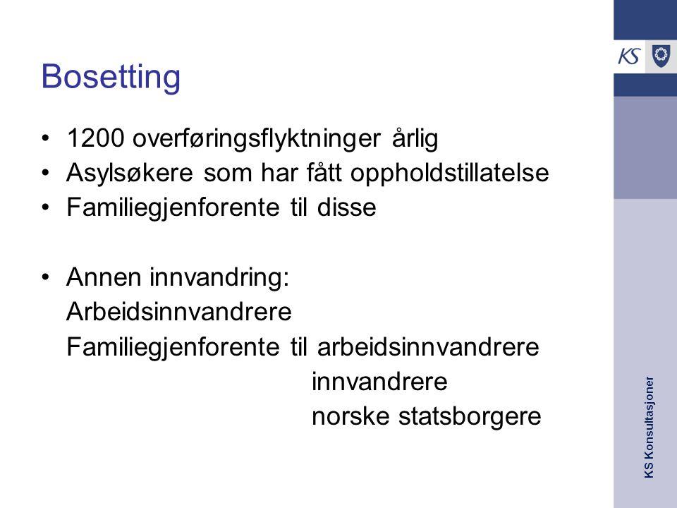 KS Konsultasjoner 17.07.2014 4 Asylankomster 2006-08 - prognose 2009 Kilde: UDI