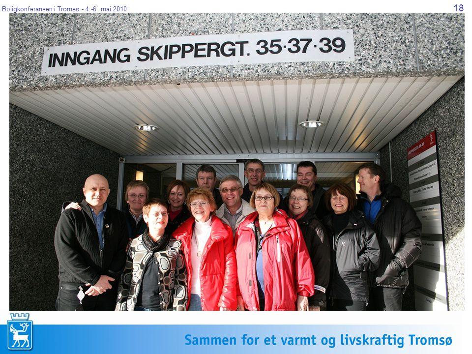 Boligkonferansen i Tromsø - 4.-6. mai 2010 18