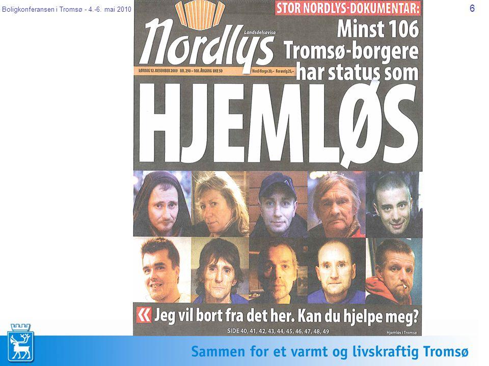 Boligkonferansen i Tromsø - 4.-6. mai 2010 7