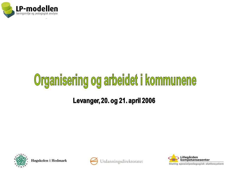 Lillegården kompetansesenter Bergsbygdaveien 8 3949 Porsgrunn www.lp-modellen.no