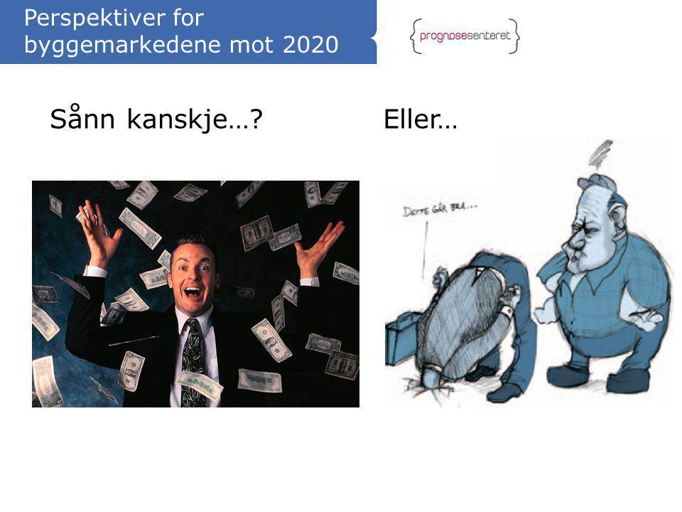 Perspektiver for byggemarkedene mot 2020 Sånn kanskje…?Eller…