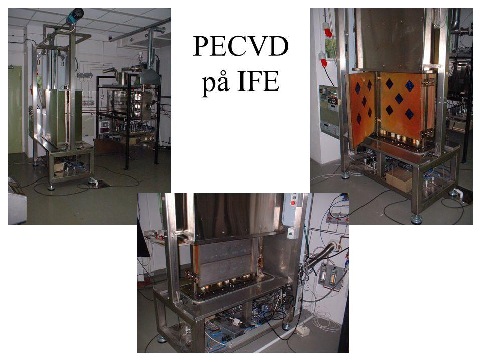 PECVD på IFE