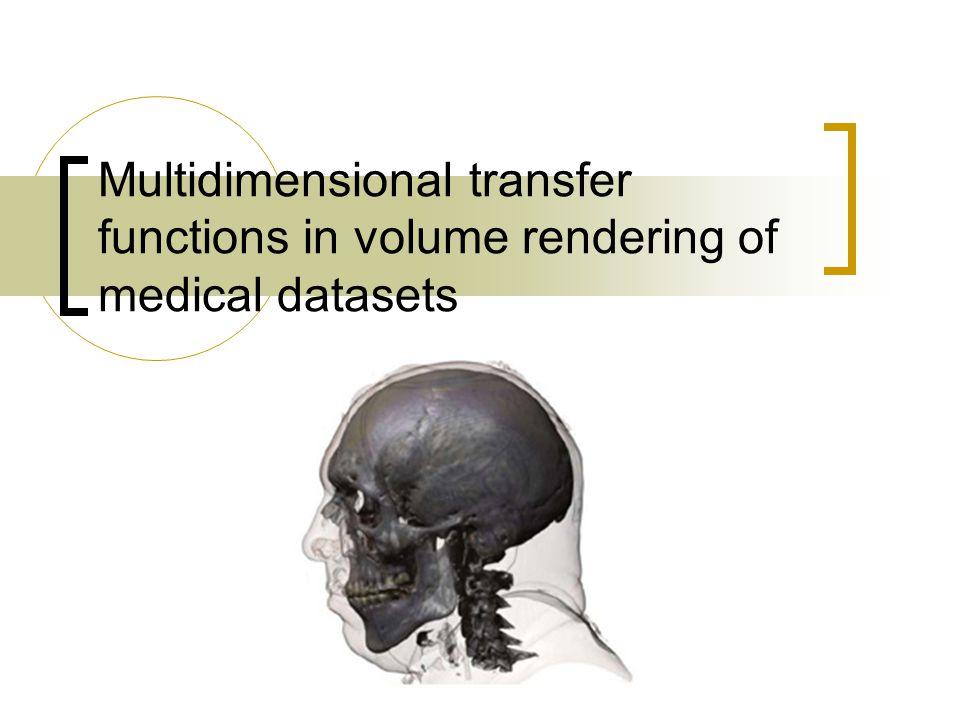 Hva oppgaven går ut på Teste ut forskjellige flerdimensjonale transfer funksjoner Se på hvordan flerdimensjonale transfer funksjoner kan genereres automatisk