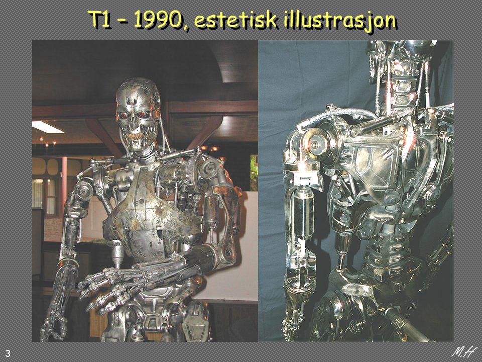 3 T1 – 1990, estetisk illustrasjon
