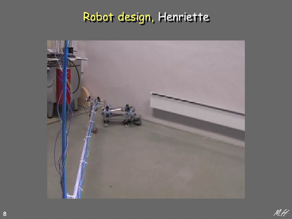 8 Robot design, Henriette