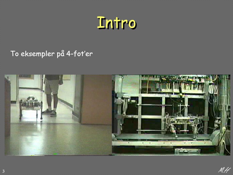 3 Intro To eksempler på 4-fot'er