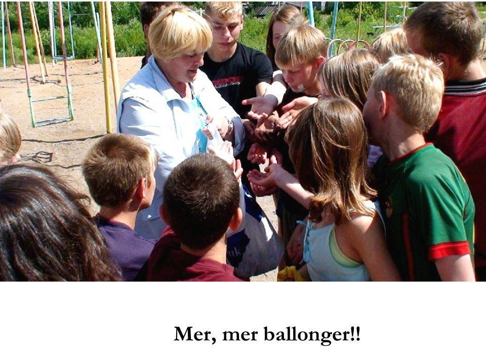 Mer, mer ballonger!!