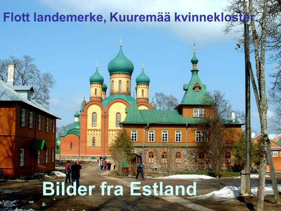 Bilder fra Estland Flott landemerke, Kuuremää kvinnekloster.