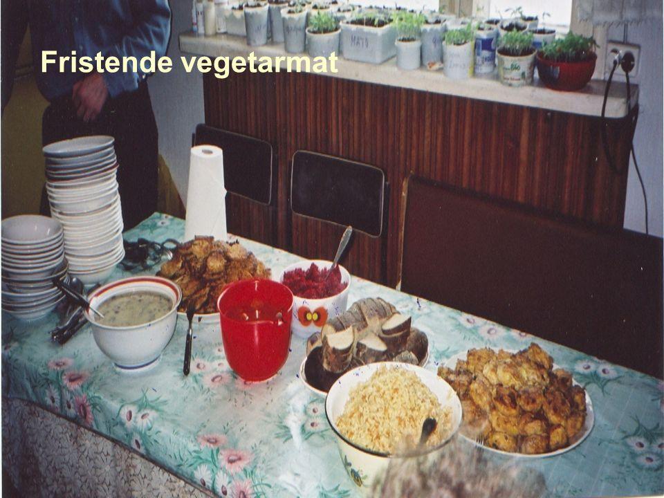 Fristende vegetarmat