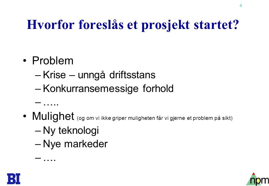 25 Prosjektsjef/Prosjektdirektør/Prosjektkontor