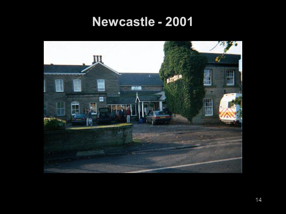 14 Newcastle - 2001