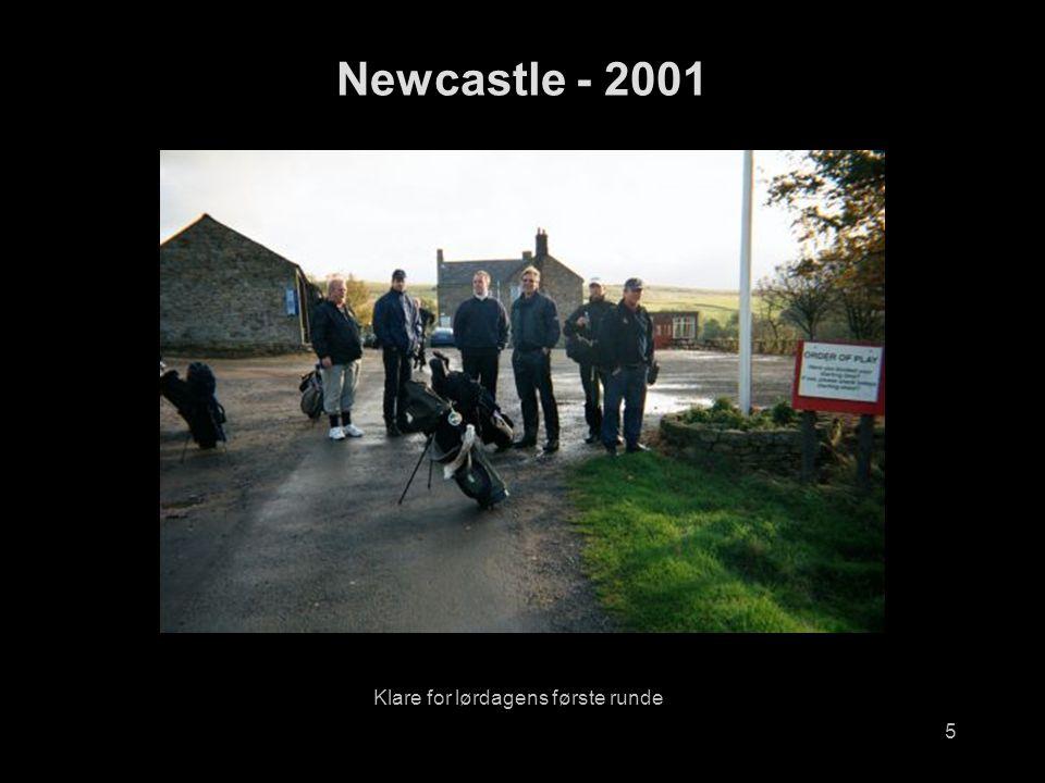5 Klare for lørdagens første runde Newcastle - 2001