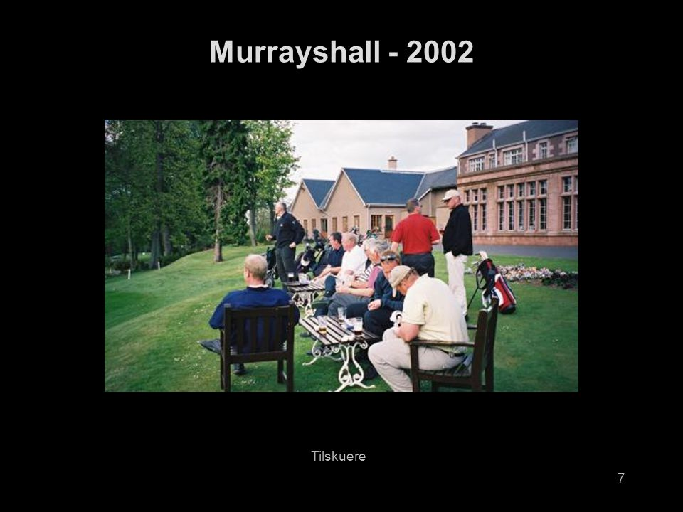 8 Murrayshall - 2002 Richard på hull 10, Murrayshall