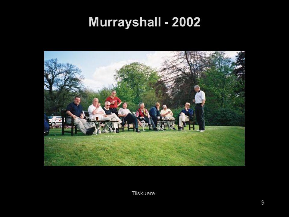 9 Murrayshall - 2002 Tilskuere