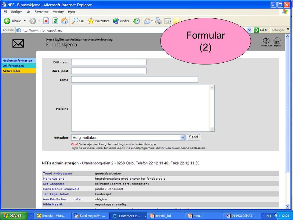 Formular (2)