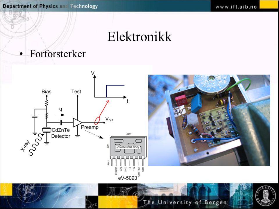 Elektronikk Forforsterker