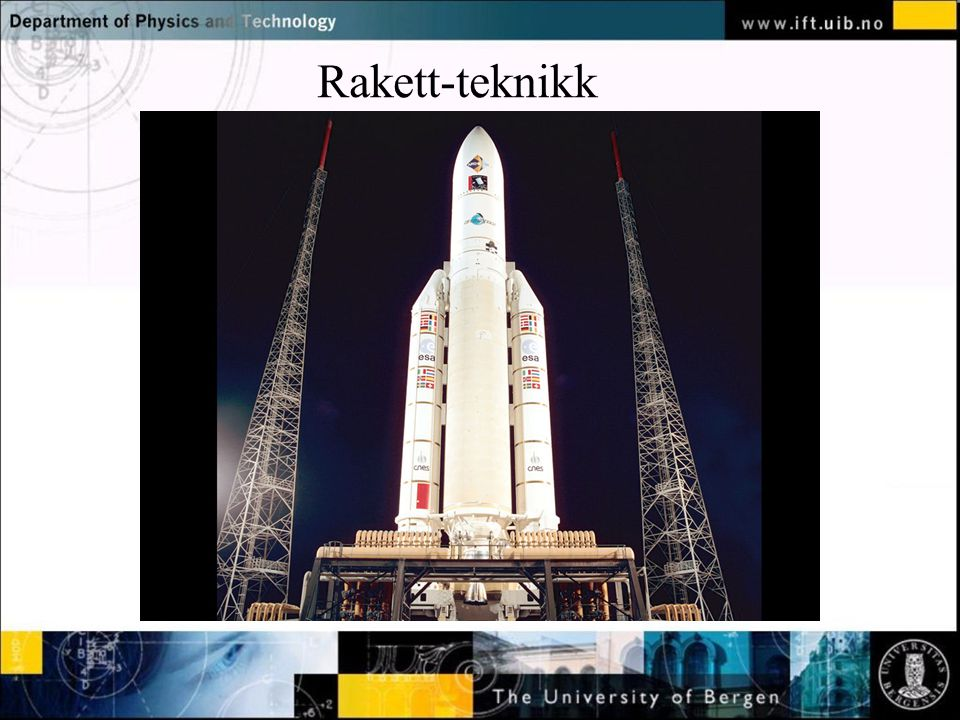 Normal text - click to edit Rakett-teknikk