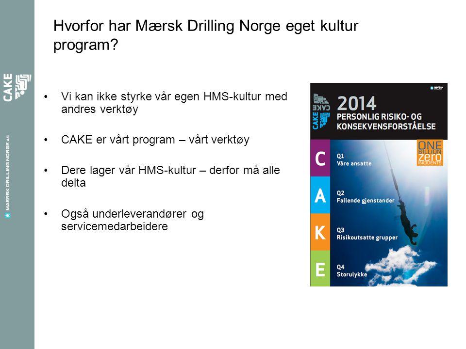 Hvorfor har Mærsk Drilling Norge eget kultur program.