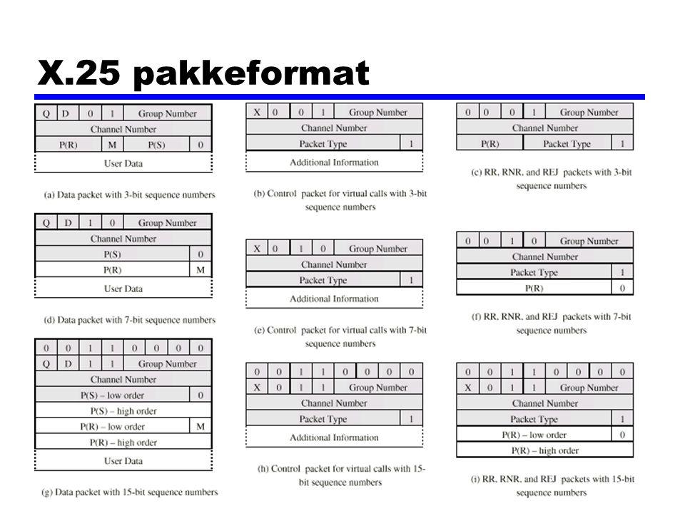 X.25 pakkeformat