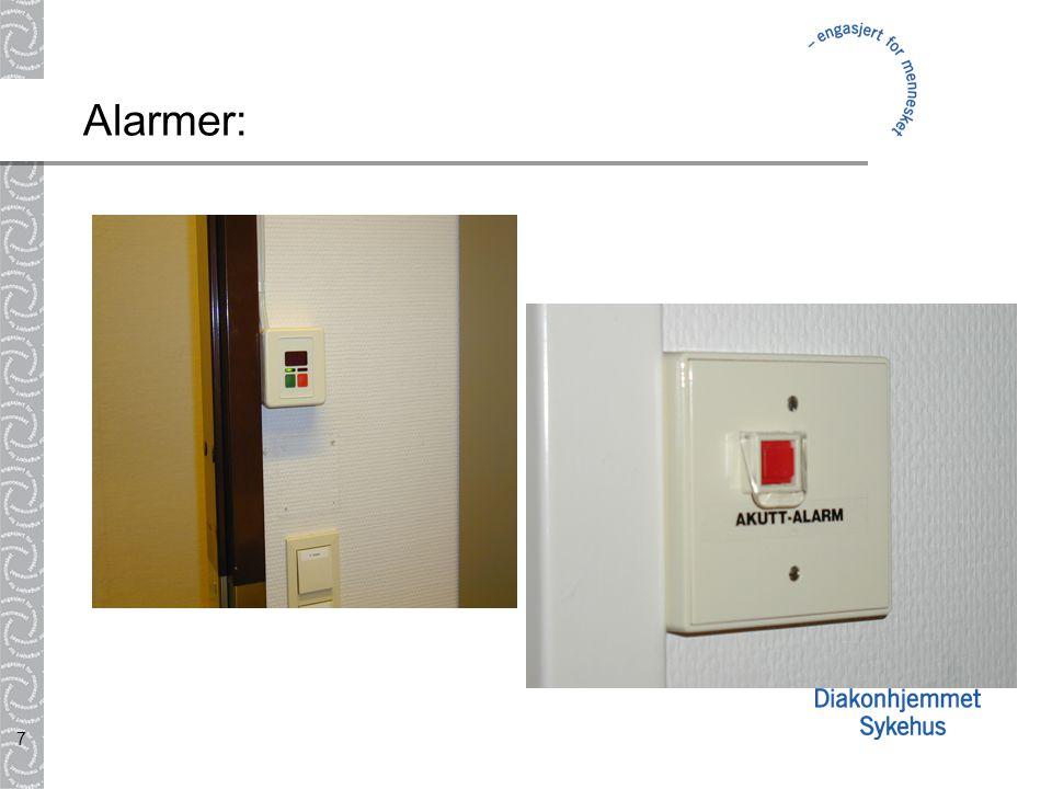 7 Alarmer: