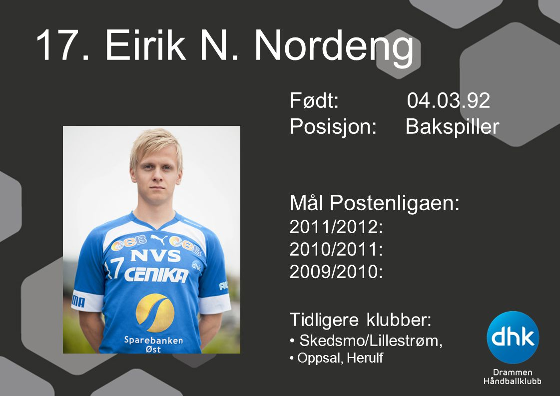 17. Eirik N.